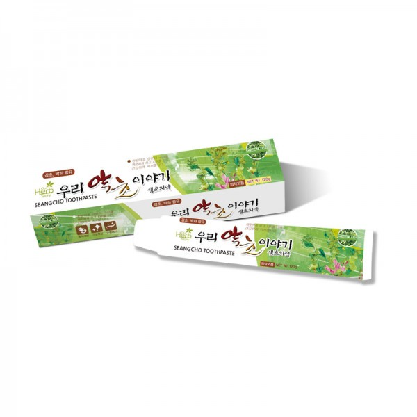 Our Herb Story Seangcho Green Tea Toothpaste