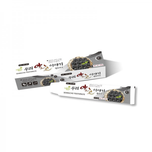 Our Herb Story Seangcho Charcoal Toothpaste